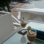 Welcome drink by the sea Beachroom #1