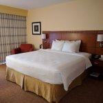 Regular king bed room