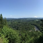 Mt. Hood seen from the Jonsrud Viewpoint, Sandy, OR