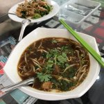 Phad See-Eu and Thai Duck Noodle Soup at First Thai