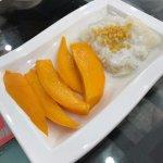 Mango Sticky Rice Dessert at First Thai, Singapore