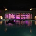 Hall central del resort mirado desde lapiscina