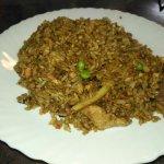 el arroz de la casa delicioso