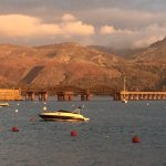 Harbour and Barmouth bridge
