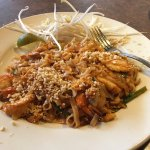 I love it here because it's authentic. The pad Thai is amazing. It has the perfect blend of heat