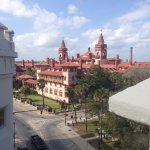 A view of Flagler College