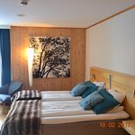 Room 42 - the warm room.