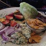 Wedge steak salad