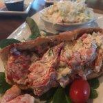 Lobster Roll and Dolphin Rueben