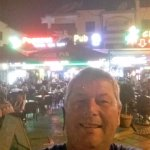 myself outside the bar come and have a chat and a drink pop pickers
