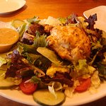 "Yummy, yummy, yummy!! A ""must experience"" for any salad/crab cake lover!!"
