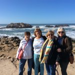 One of the stops along the 17 mile drive.