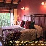 Habitaciones luminosas con alegres colores, camas de matrimonio,alguna de 180 cts. bajo solicitu