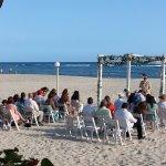 Eine echt Dominikanische Hochzeit am Strand des Hotels