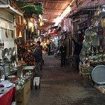 Medina von Marrakesch Foto