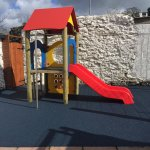 small play area with cushioned flooring!