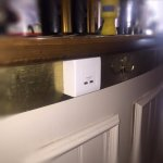 USB charging points across the bar