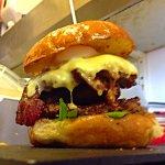 The Snorlax burger!