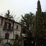Una vieja casa del entorno rural de la vega de Granada