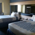 Our rooms feature new, comfortable queen size beds