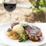 Indulge in All-Natural, Hormone Free Meat & Game, Paired With Ponte Wine!