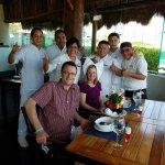 Happy Birthday, Sue! -with Maru, Mauricio, Chef Frank, et al