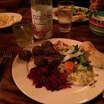 assiette de falafel