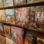 Board games available for sale.
