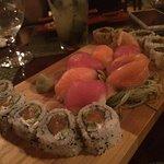 Assiette de sushi à partager