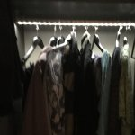 Light up wardrobe
