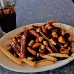 Poutine and a coke!