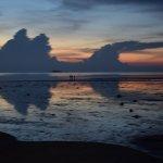coucher de soleil à l'Angels Bay