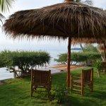 Terrasse sur la plage