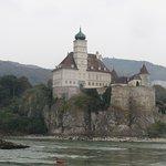 Schönbühel Castle sits on the Danube's south bank between Melk and Willendorf.