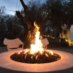 Friendly and warming fire pits