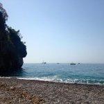 Private beach for La Fenice guests!