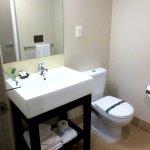 Compact, but clean bathroom
