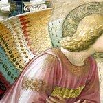 Il Beato Anegico's Annunciation (detail).