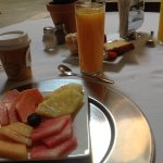 Breakfast included on room rate