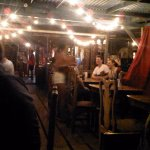 Inside the restaurant at Om