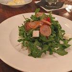 Arugula salad, perfect!