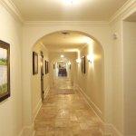 The Cloister Beach Club Suites hallway