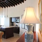 The Cloister Beach Club Suites: living room with kitchen
