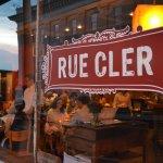 Rue Cler Exterior at Dusk