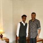 With Ananthu (F & B Service)