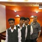 With Ananthu, Amjith & Pappu