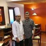 With Chef Stephen Philip