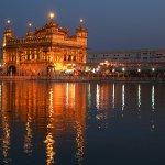 Harmandir Sahib, Evening view