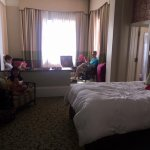 Junior suite (I couldn't fit the entire room into the photo)