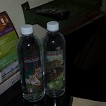 Complementary water bottles